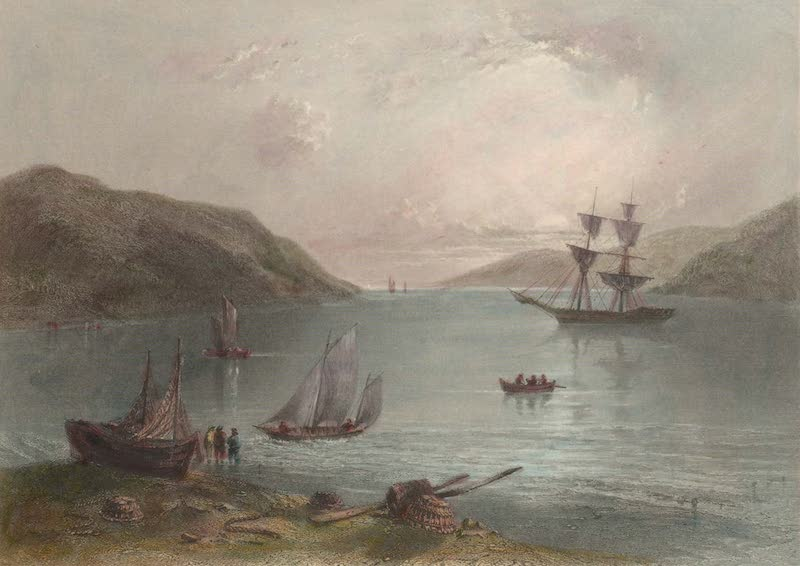 Canadian Scenery Illustrated: Volume 2 - Scene in the bay of Annapolis (1865)
