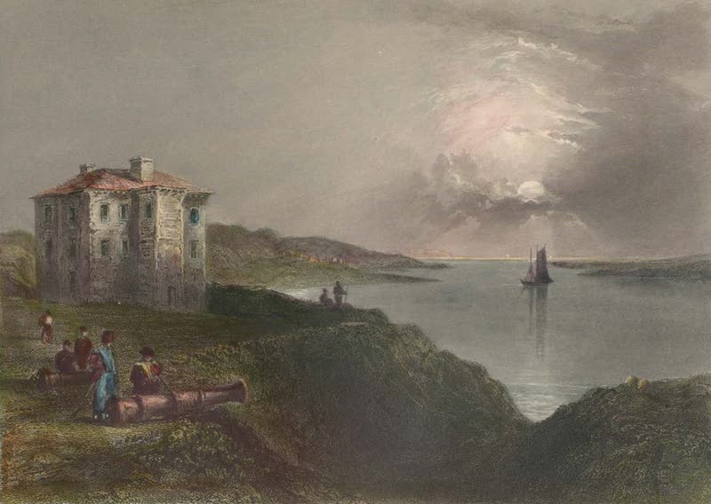 Canadian Scenery Illustrated: Volume 2 - Old Fort, near Annapolis Royal (1865)