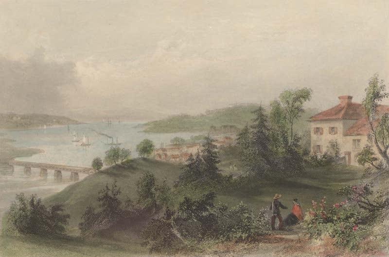 Canadian Scenery Illustrated: Volume 2 - Windsor, Nova Scotia, from the residence of Judge Haliburton (1865)