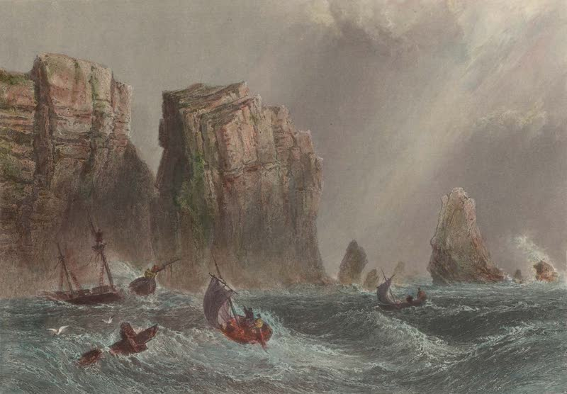 Canadian Scenery Illustrated: Volume 2 - Cape Split (Bay of Fundy) (1865)