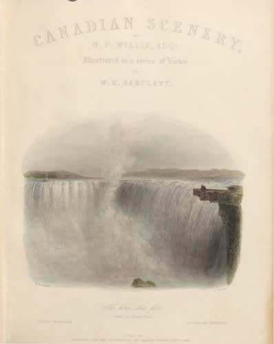 Canadian Scenery Illustrated: Volume 2 - Title Page (1865)