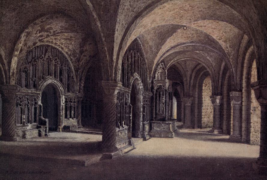 Canterbury Painted and Described - The Chapel of