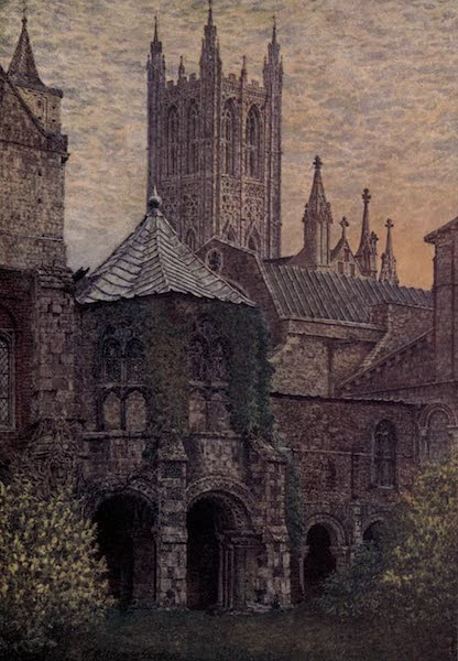 Canterbury Painted and Described - The Baptistry, Canterbury Cathedral (1907)