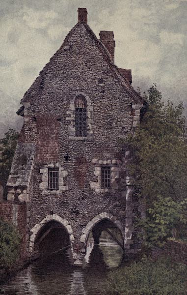 Canterbury Painted and Described - The Greyfriars' House (1907)