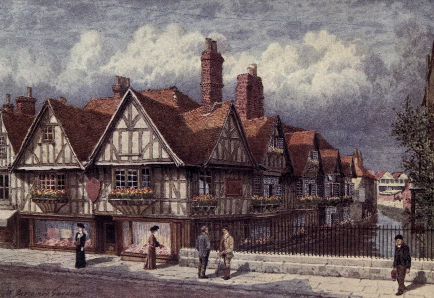 Canterbury Painted and Described - The Canterbury Weavers (1907)