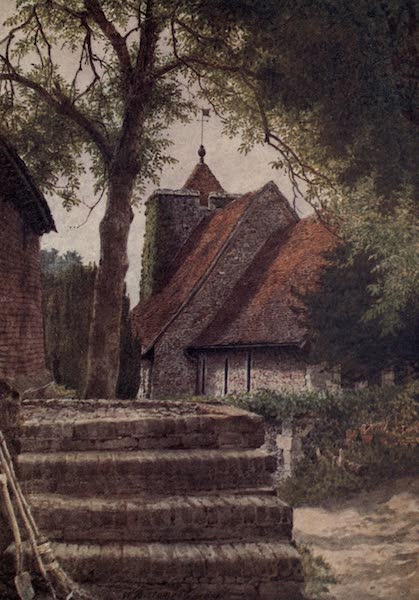Canterbury Painted and Described - St Martin's Church (1907)