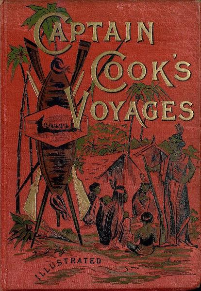 Captain Cook's Three Voyages Round the World - Front Cover (1895)