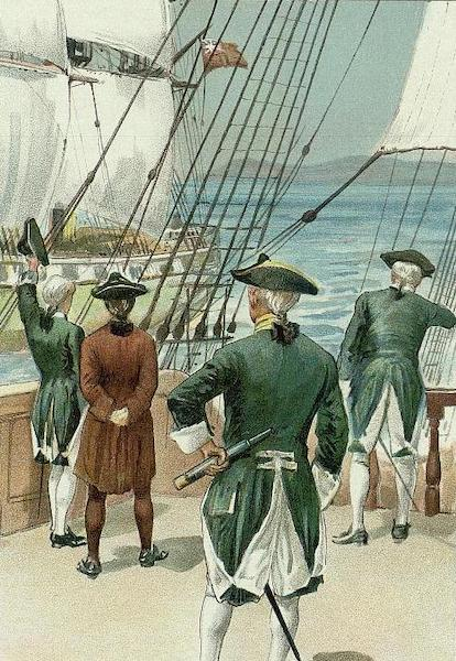 Captain Cook's Three Voyages Round the World - Plate 8 (1895)