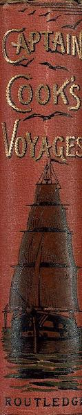 Captain Cook's Three Voyages Round the World - Spine (1895)