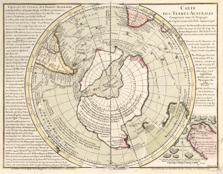 Carte des Terres Australes