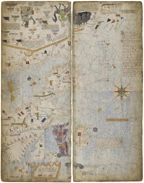 Catalan Atlas - Leafs 11 & 12 (1375)