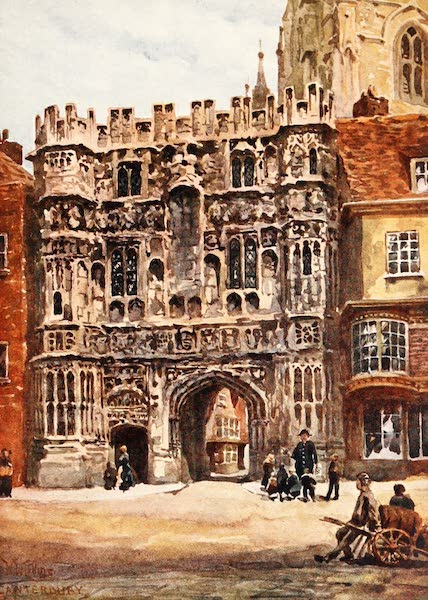Cathedral Cities of England - Canterbury - Christchurch Gateway (1905)