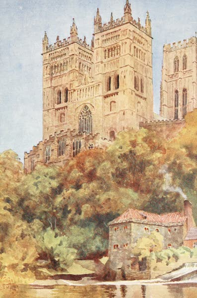 Cathedral Cities of England - Durham - The Western Towers (1905)