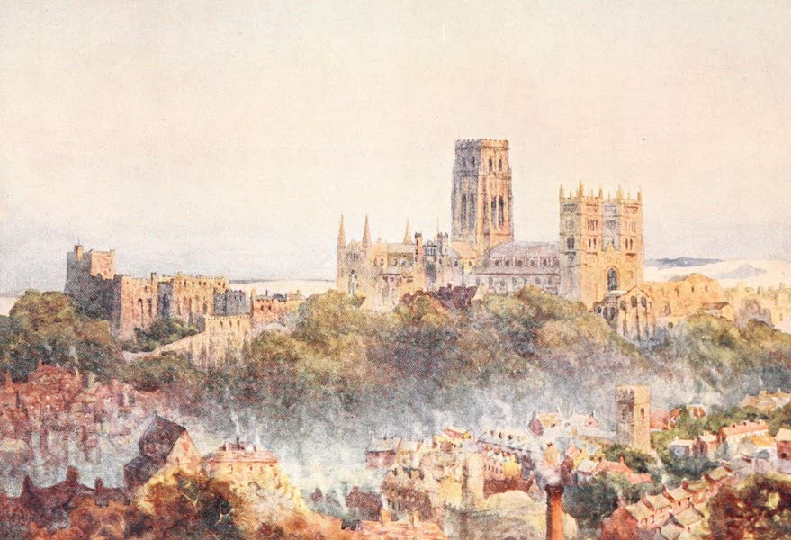 Cathedral Cities of England - Durham - From the Railway (1905)