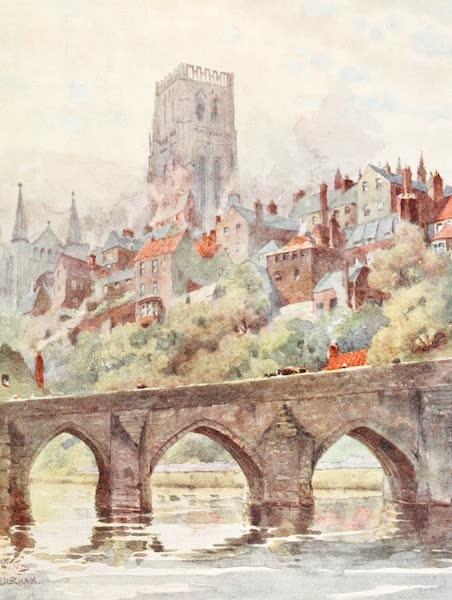 Cathedral Cities of England - Durham - Elvet Bridge (1905)