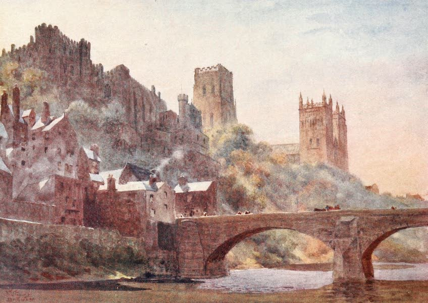 Cathedral Cities of England - Durham - Framwell Gate Bridge (1905)