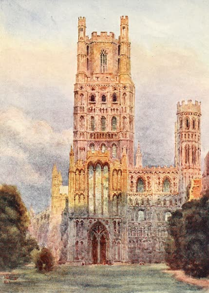 Cathedral Cities of England - Ely - From the West Front (1905)