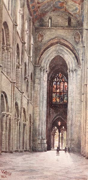 Cathedral Cities of England - Ely - Interior of the Nave (1905)