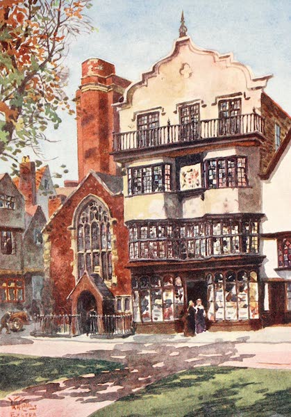 Cathedral Cities of England - Exeter - Mol's Coffee Tavern (1905)