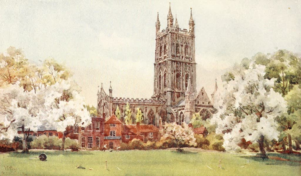 Cathedral Cities of England - Gloucester - From the Paddock (1905)