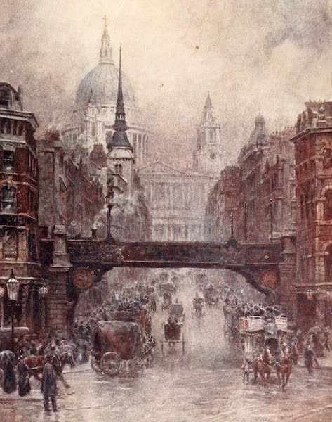 Cathedral Cities of England - London - St. Paul's and Ludgate Hill (1905)
