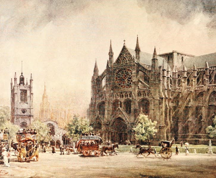 Cathedral Cities of England - London - Westminster Abbey (1905)