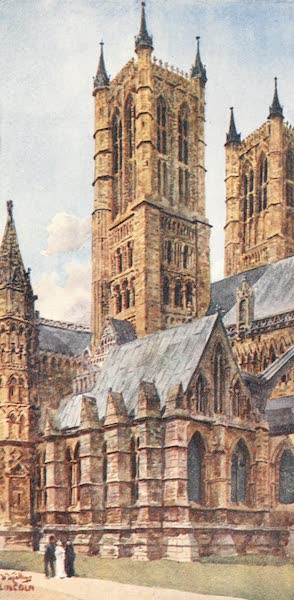 Cathedral Cities of England - Lincoln - The West Towers (1905)