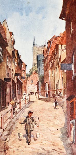 Cathedral Cities of England - Lincoln - The Steep Hill (1905)