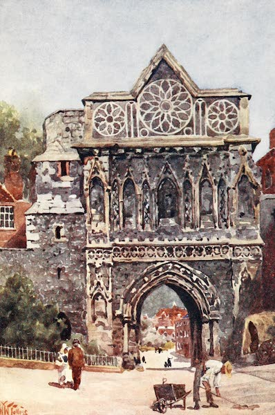 Cathedral Cities of England - Norwich - The Aethelbert Gate (1905)