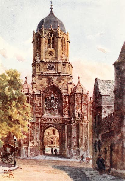 Cathedral Cities of England - Oxford - Christchurch Gateway (1905)