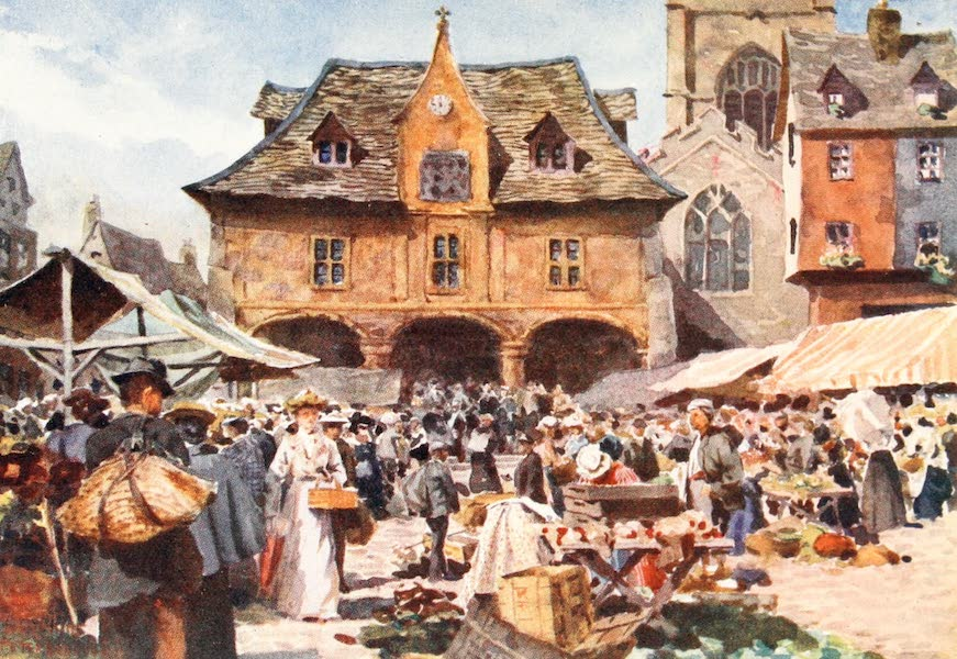 Cathedral Cities of England - Peterborough - The Market Place (1905)