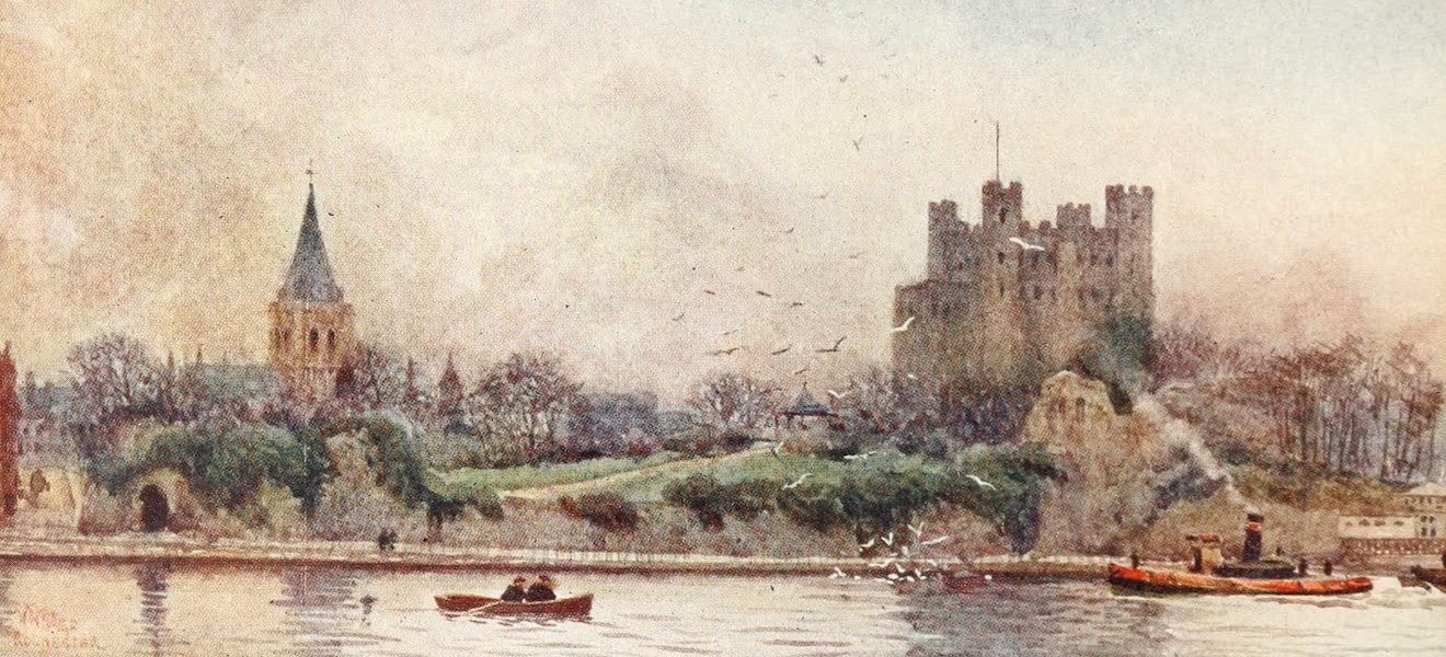 Cathedral Cities of England - Rochester - Cathedral and Castle (1905)