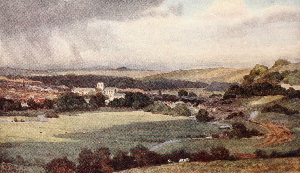 Cathedral Cities of England - Winchester - From St. Catherine's Hill (1905)