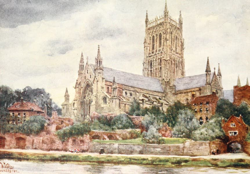 Cathedral Cities of England - Worcester - The Cathedral (1905)