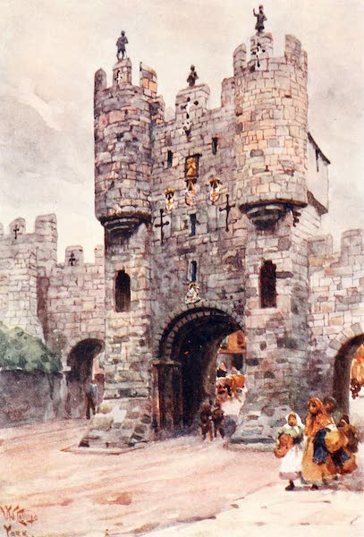 Cathedral Cities of England - York - Micklegate Bar (1905)