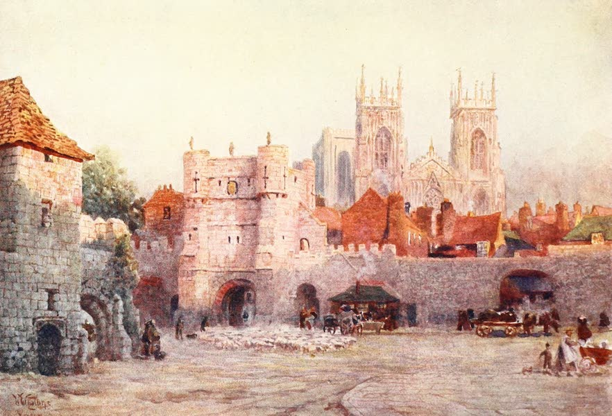 Cathedral Cities of England - York - Bootham Bar (1905)