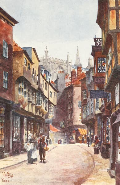 Cathedral Cities of England - York - Stonegate (1905)
