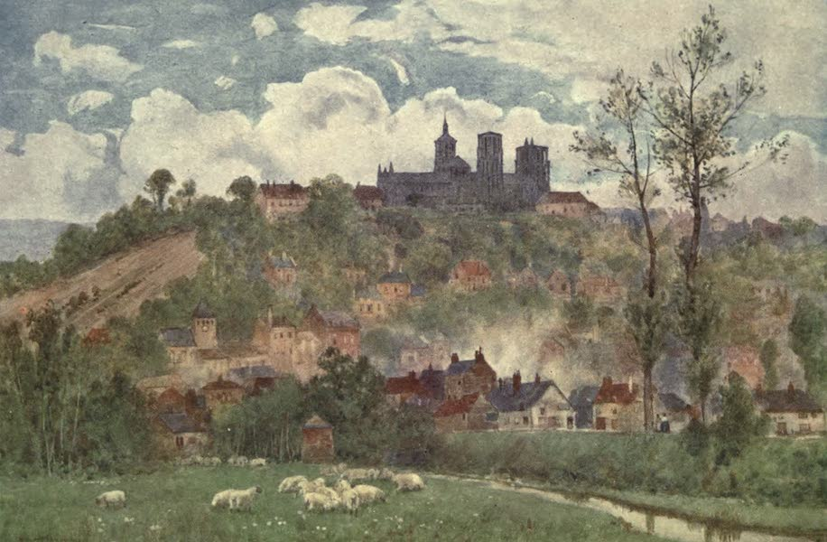 Cathedral Cities of France - Lâon: view from the plain (1907)