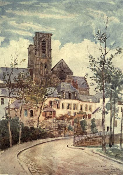 Cathedral Cities of France - St. Martin, Lâon (1907)