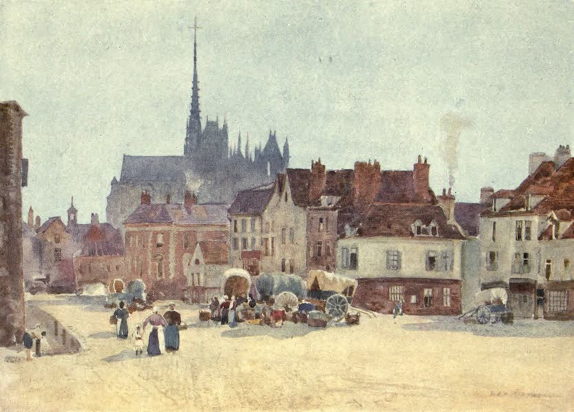 Cathedral Cities of France - The Place Vogel, Amiens (1907)