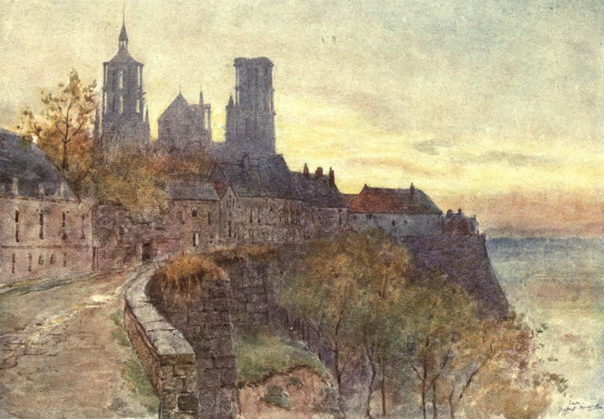 Cathedral Cities of France - The Ramparts, Lâon (1907)