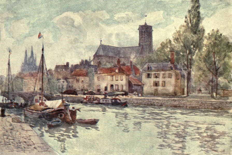 Cathedral Cities of France - Soissons (1907)