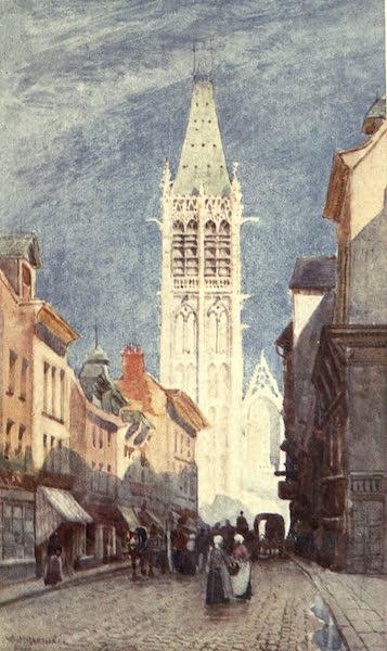 Cathedral Cities of France - Rue de l'Horloge, Rouen (1907)