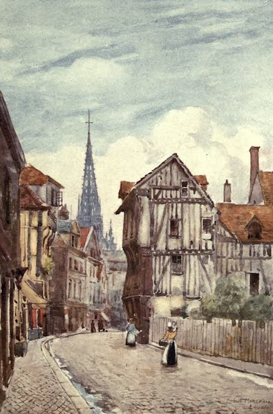 Cathedral Cities of France - Rue St. Romain, Rouen (1907)