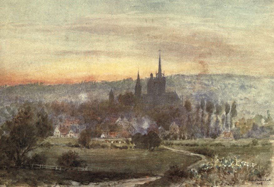 Cathedral Cities of France - Evreux (1907)