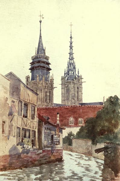 Cathedral Cities of France - The Towers of Evreux (1907)