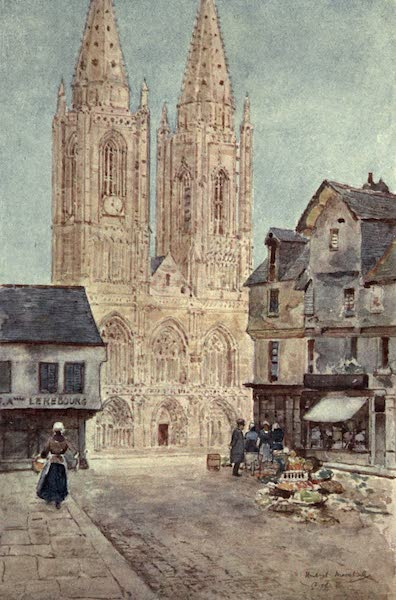 Cathedral Cities of France - The Cathedral Front, St. Lô (1907)