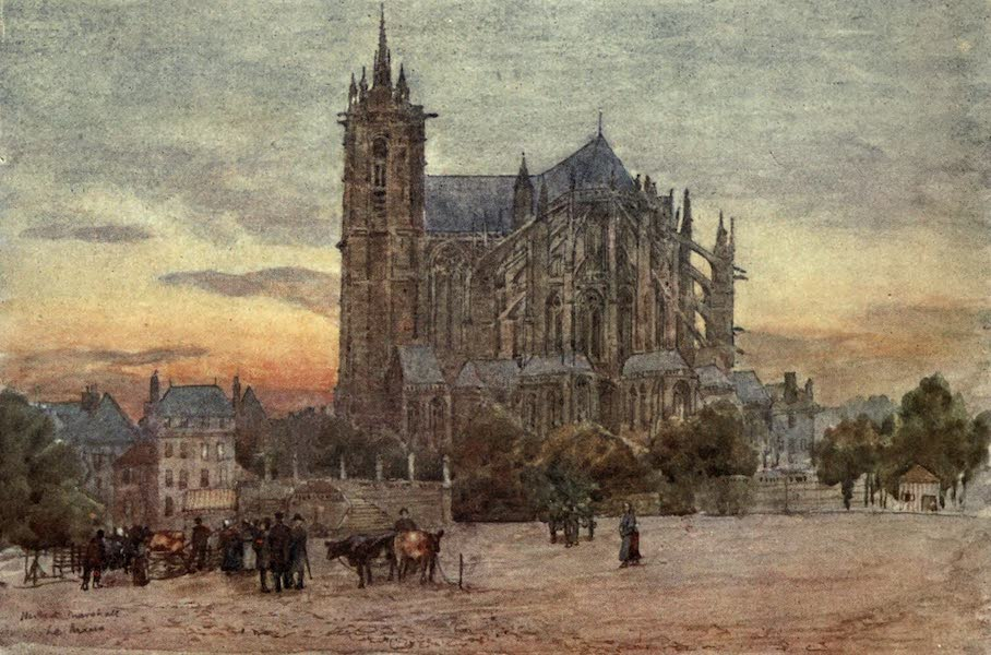 Cathedral Cities of France - Le Mans (1907)