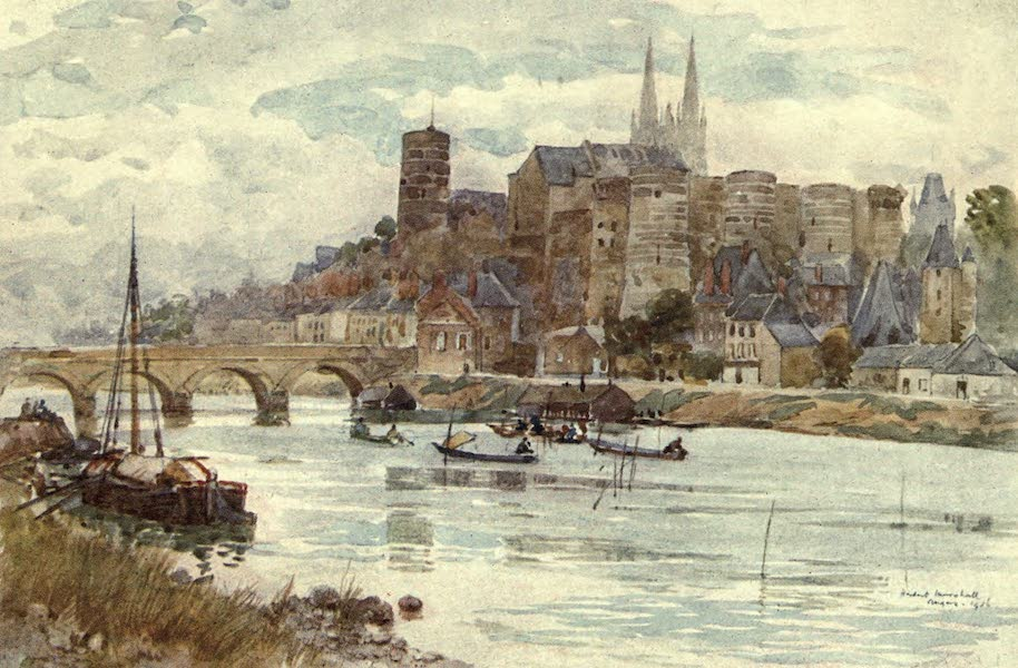 Cathedral Cities of France - Angers (1907)