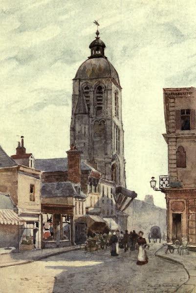Cathedral Cities of France - Tour de l'Horloge, Tours (1907)